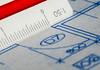 Macro Mondays - Edge (flat6s) Tags: macromondays edge bokeh depthoffield sonya700 minolta 50mm macro lens fotodiox lensadapter drafting scale blueprint drawing numbers text