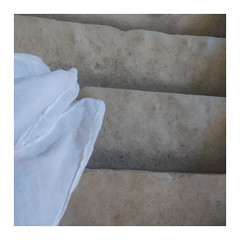 long white skirt (szllva) Tags: framed pastel minimalism square stairs parallels lines stilllife