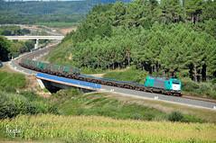 Oroso (***REGFA***) Tags: 335 euro4000 tren rsu contenedores comboio mercadorias renfe