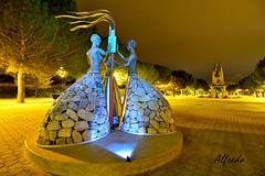MUJERES (6toros6) Tags: alfredo aficionados arga d7100 flickr12days noche nikon luz navarra nocturna niebla peralta paseos invierno cielo