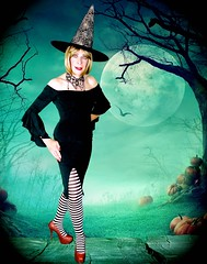 DSC07841CK (msdaphnethos) Tags: transgender crossdresser transvestite witch blonde rubyslippers surrenderdorothy halloween daphnethomas