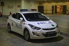 Singapore Police Force Hyundai Elantra Fast Response Car (nighteye) Tags: singaporepoliceforce spf hyundai elantra fastresponsecar frc singapore