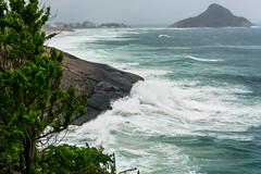 DSC_6251 (sergeysemendyaev) Tags: 2016 riodejaneiro rio brazil         prainha beach ocean storm waves landscape