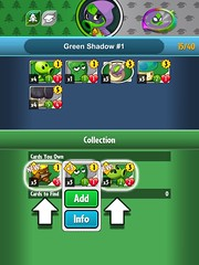 Plants vs. Zombies Heroes (UX Examples (Mobile Games)) Tags: plantsvszombiesheroes 2016 game ui ea howto tips tutorial inventory collections
