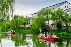 (DSC_3330) (nans0410(busy)) Tags: japan fukuoka willow yanagawa donkobune canal