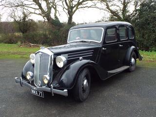 1939 Wolseley 18/85 series III Sixlite Saloon