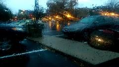 羅城之夜雨 - Rainy Evenings in Downtown Lawrence (sunflowers&bubbletea) Tags: rain lights evening lawrence kansas 雨天 傍晚 羅城 夜雨 勞倫斯 秋雨 堪薩斯 sunflowersbubbletea htconem8