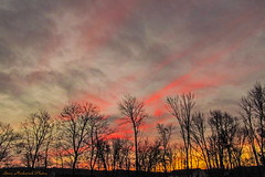 Colorful Morning Sky_8487 (smack53) Tags: morning autumn trees sky fall sunrise canon newjersey powershot cluds paintedsky westmilford sx150is smack53