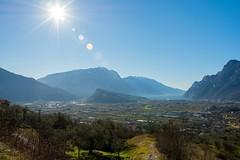 Basso Sarca (alebuni) Tags: travel italy lake lens lago nikon garda view riva 7100 viaggi arco trentino 18105 torbole busa