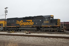 W&LE 5391 Roster Brewster Yard 213 Power 12/4/14 (Poker2662) Tags: ohio rio yard grande power brewster 213 roster sd40t2 5391 wle tunnelmotors 12414