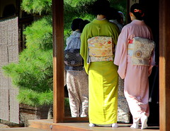 Une affaire de noeuds / Kyoto (PtiteArvine) Tags: kyoto tradition japon costumetraditionnel