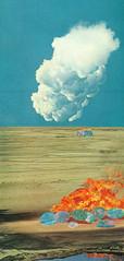 untitled (k mackowick) Tags: art colors collage vintage fire magic surreal collageart cutandpaste repurposedart katiemackowick