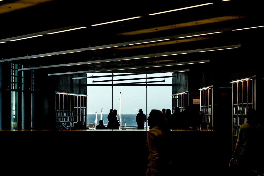 New Public Library In Dun Laoghaire, Officially Called DLR Lexicon Opened To The Public Today And It Is Worth Visiting Ref-100524
