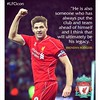 Brendan Rodgers to Steven Gerrard  #LFC #LFCicon #Gerrard 8