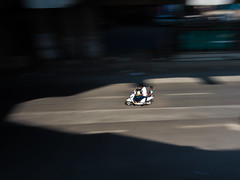 (AmirsCamera) Tags: travel family light shadow people india living transport streetphotography olympus motorbike human bombay mumbai panning incredible omd documenting em1 2015 omdem1