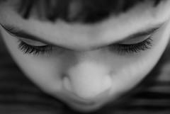 il domani  in uno sguardo ancora da scoprire (Marco Damilano) Tags: portrait children focus ritratti biancoenero bambino blackendwhite fuocoselettivo ildomanichesar