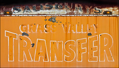 Translocative Service (Junkstock) Tags: advertisement advertising aged california campo color corrosion corroded decay distressed decayed graphics graphic old oldstuff oldandbeautiful photo photograph photography photographs photos patina paint peelingpaint rust rusty rusted textures texture typography type transportation transport weathered