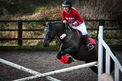 the jump for christmas (tristangage) Tags: christmas horse sports canon jump outdoor riding 5d horseback 70200mm 5dmkii