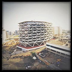 One Airport Square in Accra Ghana photo bt @no1cam http://instagram.com/p/zuKWIvrJ_N/ all rights reserved (CM f5.6) Tags: africa ghana greenstar accra politecnica greenbuilding actis laurus airportcity mariocucinella oneairportsquare airportcitygh