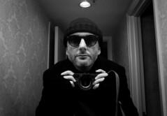 Living the Dream (DonStevie) Tags: carlzeiss28mmf28zmbiogont zeiss zm bw blackandwhite blackwhite nyc newyork selfie 28mm biogon leica efex mirror leicamonochromlove rangefinder shades donstevie usa waldorf selfportrait explored explore