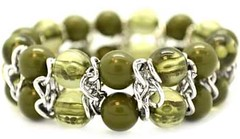 Glimpse of Malibu Green Bracelet P9430A-4