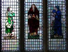 Edith Webster as Hope, Charity, Faith by Louis Davis (Simon_K) Tags: church churches cambridgeshire allsaints eastanglia cambs longstanton
