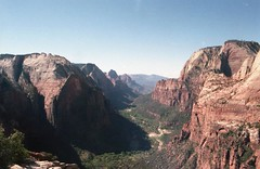 Angels Landing (teacup_dreams) Tags: film 35mm angles landing zion