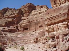 Amphitheatre, Petra (Aidan McRae Thomson) Tags: petra amphitheatre jordan classical antiquity