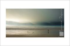 Alone (Emmanuel DEPARIS) Tags: storm france beach clouds de nikon cote pas emmanuel calais manche wimereux dopale deparis