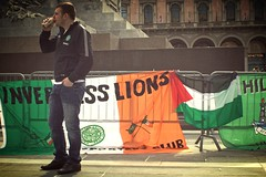the green brigade supporters... part one (lazarillo de tormes) Tags: italy milan milano streetphotography celtic celticfc greenbrigade