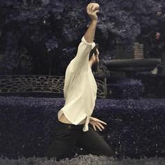 Lanzamiento (Isabel Barranco) Tags: man garden heart anger corazn hombre jardn shotput enfado lanzamiento