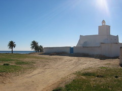 Lonely Mosque in Guellala Djerba