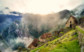 Morning in Machu Picchu