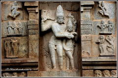 4985 - Gangadhara (Siva) with Devi, Gangai Konda Cholapuram Series 13 (chandrasekaran a 30 lakhs views Thanks to all) Tags: india heritage architecture canon culture unesco temples nandi tradition tamilnadu gopuram cholas gangaikondacholapuram parvathi rajaraja lordsiva canon60d rajendrachola gangadhara   adalvallan