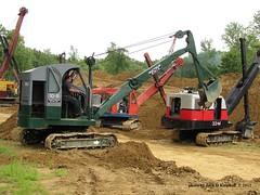 Bucyrus Erie 10-B, Brownsville, PA. 8/11/2012 (jackdk) Tags: construction marion 3m 304 bss constructionequipment b10 hcea bucyruserie nationalpike koehring koehring304 brownsvillesteamshow bucyruseried10 marion3m