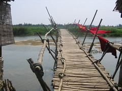 Bridge to the Rice Paddies Vietnam