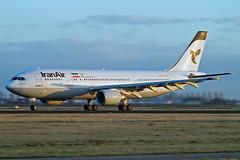 Airbus A300B4-605R EP-IBA Iran Air (Andries Waardenburg) Tags: netherlands amsterdam nl ams eham a300 epipa