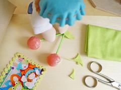 Vamos fazer? (Ateliê Bonifrati) Tags: birthday cute cherry diy craft gift aniversário cereja pap presente passoapasso bonifrati façavocêmesmo