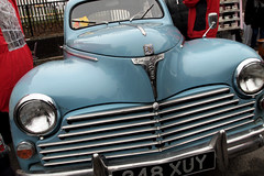 Peugeot 203 (Cath Dupuy) Tags: london cars ford chevrolet thames vintage austin river shopping 60s riverside sale cadillac retro southbank 50s cocacola morris rocknroll timeout classiccars stalls bricabrac 40s bootsale mannequi dayouy