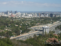 View of Los Angeles (marlene frankel) Tags: building architecture losangeles olympus freeway birdseyeview omde5