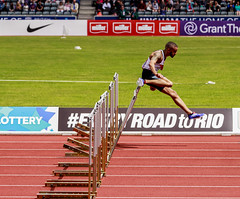 110m hurdles 2 (stevennokes) Tags: woman field athletics birmingham track meadows running smith mens british hudson sainsburys asher muir hurdles rooney 100m 200m sprinter 400m 800m 5000m 1500m mccolgan twell