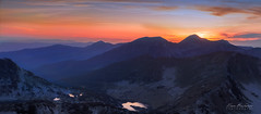 Pirin mountain (ilian_bozhanov) Tags: bulgaria sunset sunrise sky sunlight mountaine mountains light lake lands landscapes