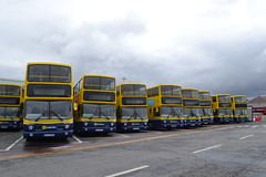 Dublin Bus AV313 03-D-20313 - AV309 03-D-20309 - AV308 03-D-20308 - AV267 02-D-20267 - AV229 01-D-10229 - AV224 01-D-10224 - AV312 03-D-20312 - AV369 04-D-20369 - AV365 04-D-20365 (Will Swain) Tags: broadstone depot 12th june 2016 garage yard central bus buses transport travel uk britain vehicle vehicles county country southern south east ireland irish city centre dublin av309 03d20309 av308 03d20308 av267 02d20267 av229 01d10229 av224 01d10224 av312 03d20312 av369 04d20369 av365 04d20365 av313 03d20313