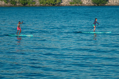 Paddle Boarding on a Hot Summer Day (A Great Capture) Tags: paddle boat people water blue red agreatcapture agc wwwagreatcapturecom adjm toronto on ontario canada canadian photographer ash2276 ashleylduffus ald mobilejay jamesmitchell summer summertime 2016 lakeontario lake cooloff board paddleboard activity sport fitness active inshape healthy lifestyle beattheheat colonelsamuelsmithpark etobicoke sunny sunshine