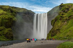 Skogarfoss Iceland (Einar Schioth) Tags: skogarfoss skgarfoss water waterfall sky summer day canon clouds cloud cliff canyon nationalgeographic ngc nature landscape photo picture outdoor iceland sland skogar skgar einarschioth