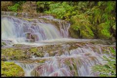 A segment of the lower level of Elephant Falls in Shillong. (stevebfotos) Tags: meghalaya shillong movingwater elephantfalls impressions topaz waterfalls india in