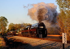 Rolling Through Ruffin (JayLev) Tags: train nc nw steam southern spencer 611 ruffin