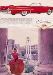 Cadillac 1957 (moogirl2) Tags: cadillac 1957 50s 50sstyle vintageads robertocapucci vintageretro 50scars 50sfashions vintagecarads 50scadillac