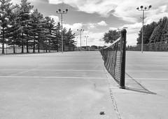Day 220:  love-all (Mark.Swanson) Tags: tennis court tenniscourt maxwellpark normal illinois