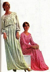 2016-07-25 1970 night gowns (april-mo) Tags: 1970 fashion 1970s 1970sfashion fashionstory lesannes70 nightgown nightdress nylon